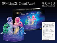 3D Пазлы Близнецы Crystal Puzzle  9050A)