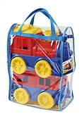 Игровой набор Поезд с вагоном в сумке Юника