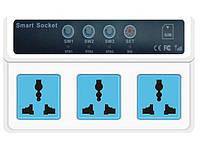 SMS розетка, GSM управление, смс, Киев, реле на 3 выхода, управление с мобильного телефона, фото 1
