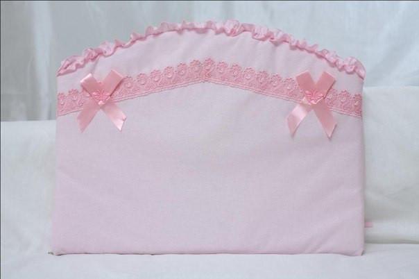 Детский постельный комплект «Бабочка» (Розовый, 6 элементов), EkoBaby