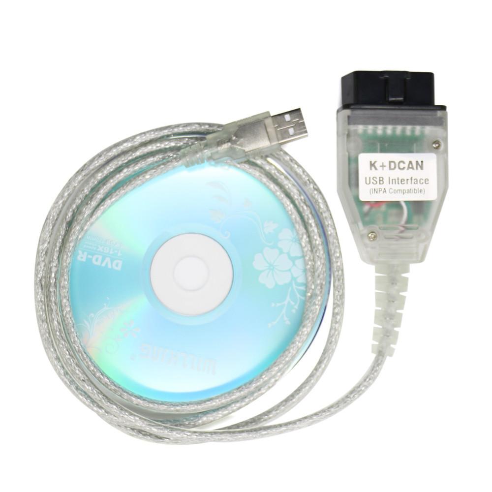 K+DCAN INPA USB сканер діагностики авто для BMW