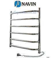 Полотенцесушитель электрический NAVIN Блюз 480 х 600 (с терморегулятором)