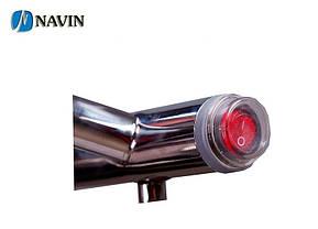Полотенцесушитель електричний NAVIN Омега 530 х 600 (з терморегулятором), фото 3