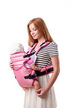 Детский слинг кенгуру Умка №12 розовый