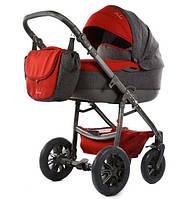Детская коляска Tako AMBRE LEN 07 красный-серый