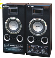 """Акустическая система AILIANG USBFM-51DC, колонки 5″+5"""" USB/SD/FM/DC12V/remote, музыкальные колонки"""