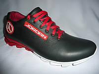 Мужские кроссовки jordan, красные.