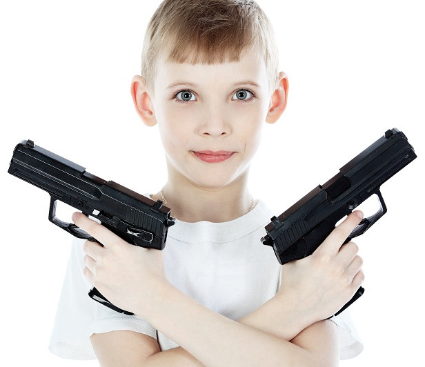 Бластери і пістолети