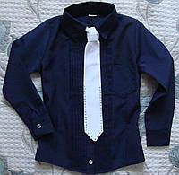 Рубашка-блузка для школы. Ост. 140 и 152.