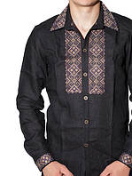 Стильная вышитая мужская рубашка