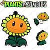 "Флешка Подсолнух из Plants vs. Zombies - ""Sunflower Flash""- 16 Gb"