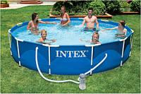 Бассейн каркасный Intex 366х76 см (28212) (56996)