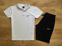 Мужские Комплекты Nike Поло (футболка)+шорты