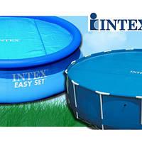 Тент антиохлаждение Intex 29023 (59954), для круглого бассейна 457 см, фото 1