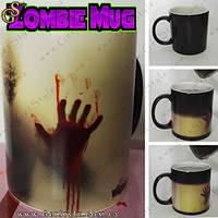 """Магическая чашка - """"Zombie Mug"""" - горячий напиток меняет цвет чашки!"""
