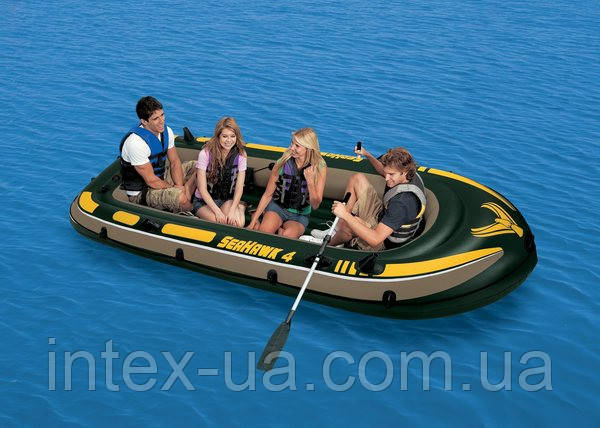 Лодка надувная Seahawk Intex 338х127 см (68351)