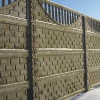Забор своїми руками: набірне бетонну огорожу