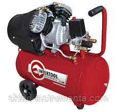 Компрессор 50 л, 3 HP, 2,23 кВт, 220 В, 8 атм, 354 л/мин, 2-х цилиндровый