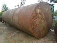 Продается емкость металлическая толстостенная 43м3, фото 1