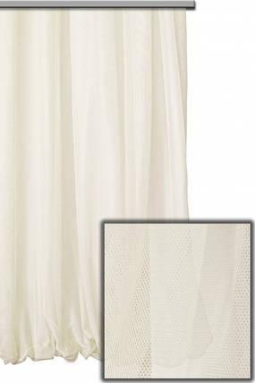 Французкий гипюр Молочный, готовая тюль 3м, фото 2