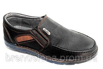 Туфли подростковые для мальчика (р 36-37)