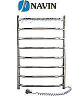 Полотенцесушитель электрический NAVIN Блюз 480 х 800  (без терморегулятора)