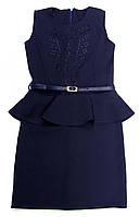 Школьная форма - Платье - Сарафан с баской