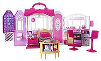 Переносной домик и 20 предметов для куклы Барби Barbie Glam Getaway House Оригинал из США