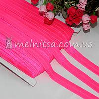 Резинка для повязок (эластичная тесьма), ярко-розовый
