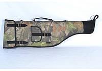 Чехол на ружье на поролоне камуфляж