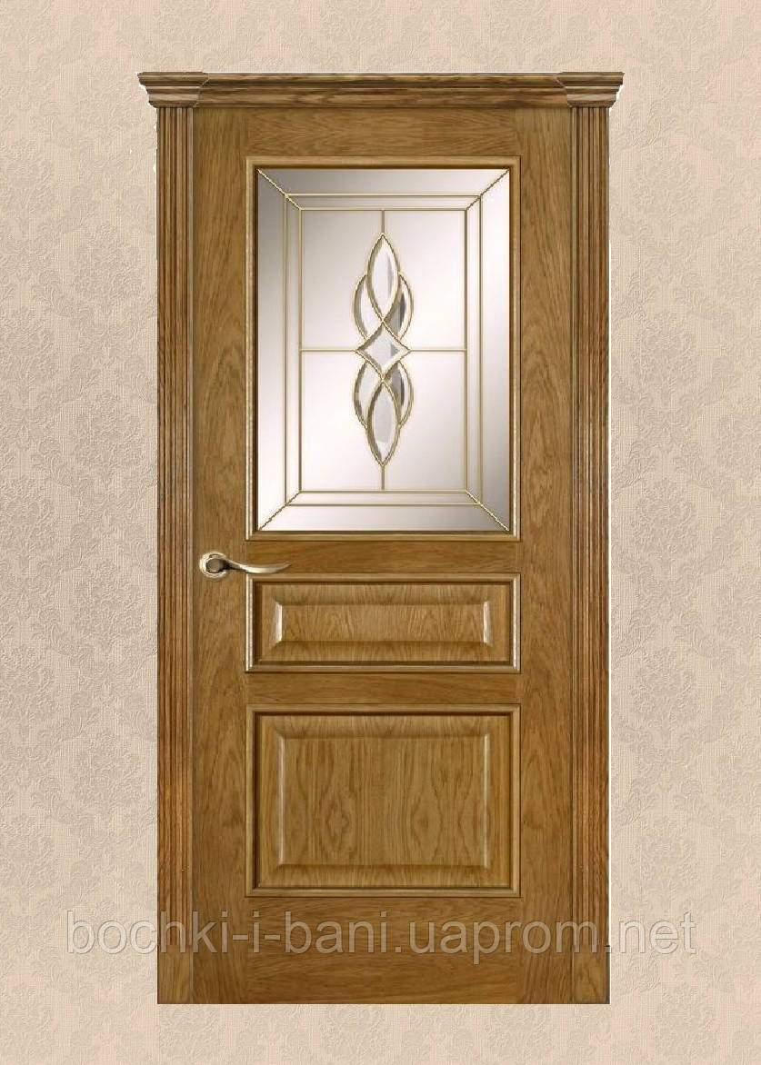 Двери межкомнатные из массива дуба