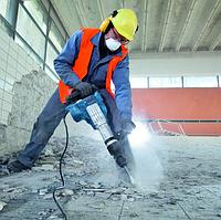 Демонтаж цементно-пещаной стяжки