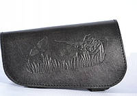 Патронташ на приклад на 6 патронов кожаный 20 калибр, фото 1
