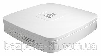 4-канальний мережевий відеореєстратор Dahua DH-NVR1A04-4P