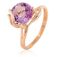 Кольцо из золота с аметистом, фото 1