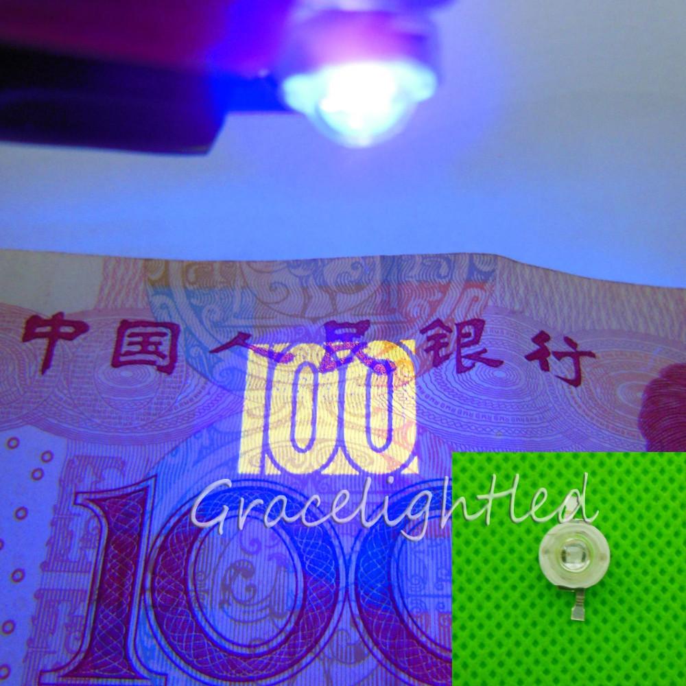 Ультрафиолетовые диоды 3W 10 шт