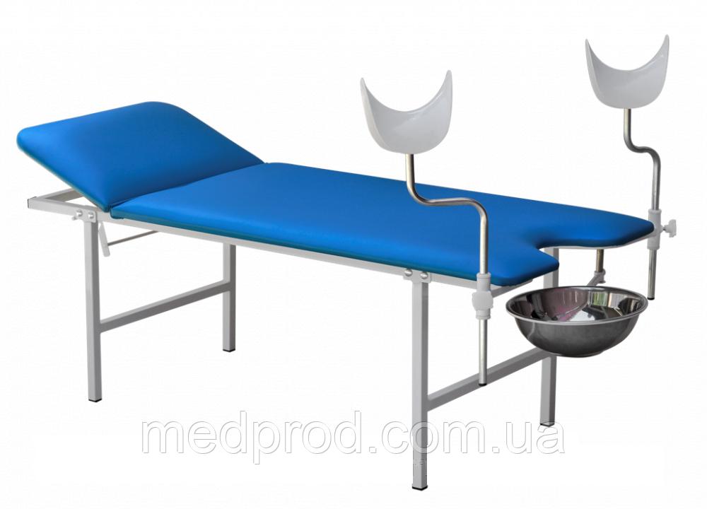 Кушетка гинекологическая ККГ с регулируемым подголовником комбинированная
