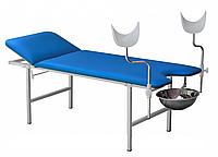 Кушетка гинекологическая с регулируемым подголовником комбинированная
