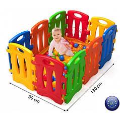 Манеж Бассейн детский Nova 543447, пластиковые ограждения для детей