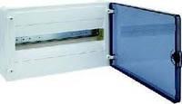 Щит наружной установки с прозрачной дверью 18 модулей Hager GOLF VS118TD