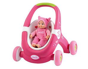 Ходунки коляска для куклы Minikiss Smoby 210201, фото 2