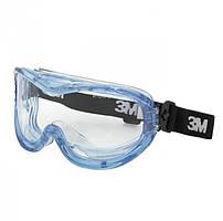 Защитные очки 3М Farenheit 71360-00001M панорамные закрытого типа, оправа - мягкая ПВХ