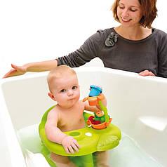 Стульчик для купания Жабка Cotoons Smoby110604_ZIE