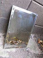 "Плитка зеркальная""серебро""250*250 фацет 10мм"