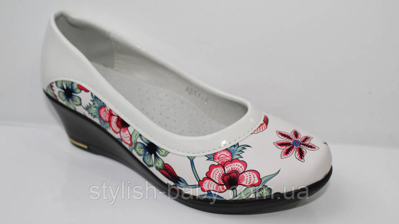 Школьная обувь оптом. Детские туфли бренда Леопард для девочек (рр. с 31 по 36)