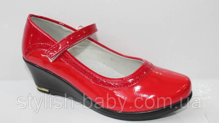 Школьная обувь оптом. Детские туфли бренда Леопард для девочек (рр. с 31 по 36), фото 2