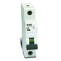 Автоматический выключатель 1P C 16A