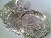 Проволка с памятью 55мм серебро 5158