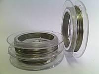 Проволока d 0,3мм 10 м серебро VYA
