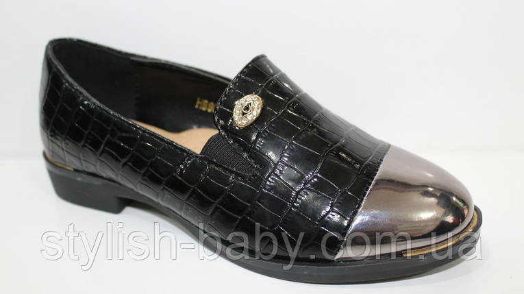 Школьная обувь оптом. Детские туфли бренда Леопард для девочек (рр. с 27 по 32), фото 2